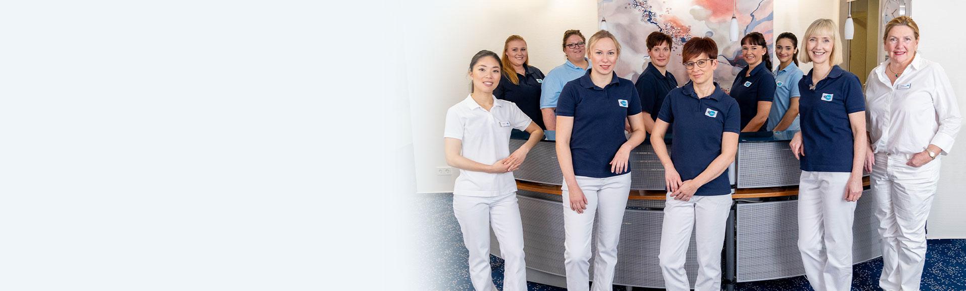 Kompetentes Zahnarztpraxis Team Hamburg Langenhorn